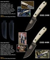 ESEE 3 Survival Knife - Traditional Handle Variant
